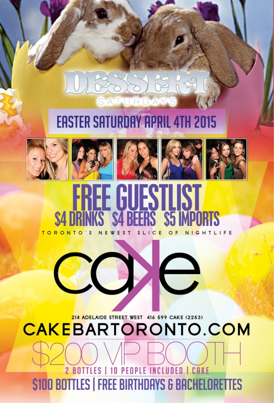 Easter Edition Dessert Saturdays