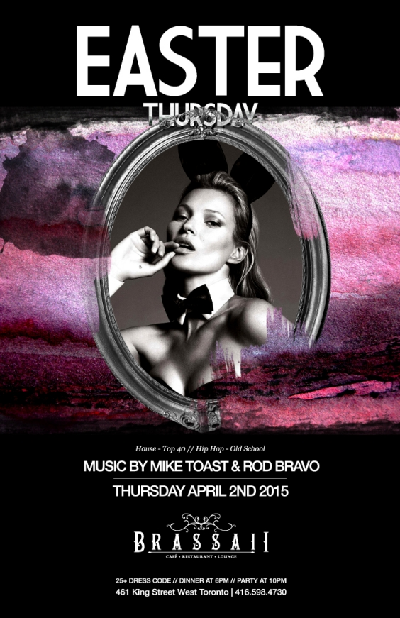 EASTER THURSDAY AT BRASSAII