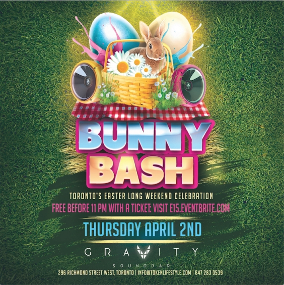 Bunny Bash | Easter Thursday