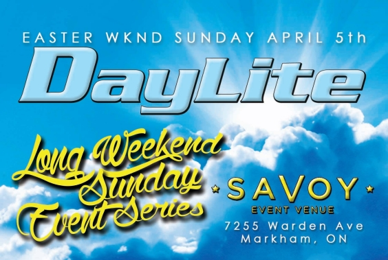 DAYLITE: Toronto's Long Weekend Sunday Day-Time Event Series