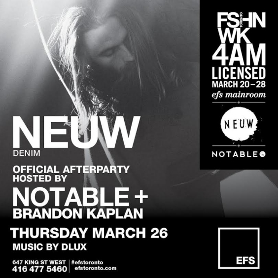 EFS Thursday Presents Neuw Denim Official After Party