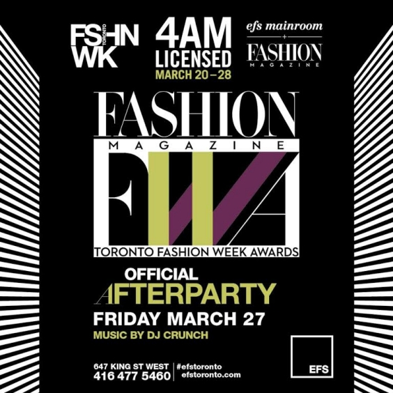 EFS Presents the Official Fashion Magazine Awards After Party
