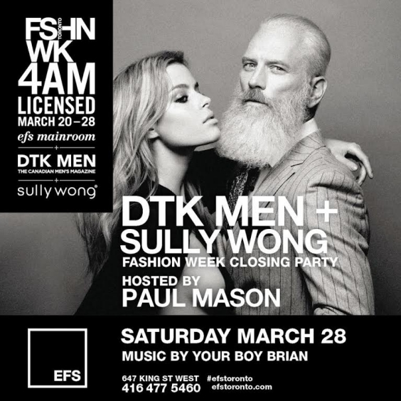 EFS Fashion Week Closing Party | Hosted by Paul Mason