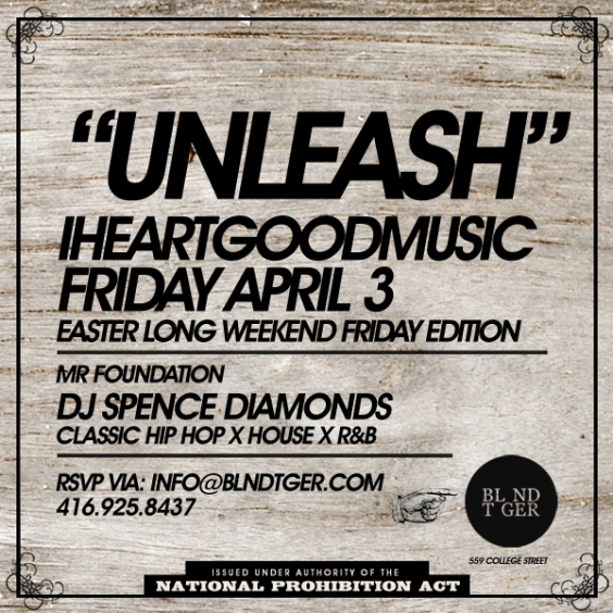 iheartgoodmusic Easter Long Weekend Friday