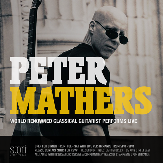 Toronto Guitarist Peter Mathers