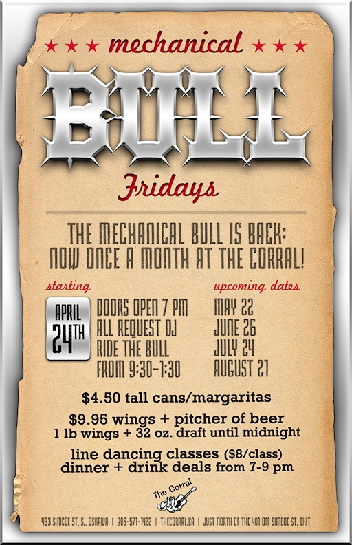 Mechanical Bull - August 21