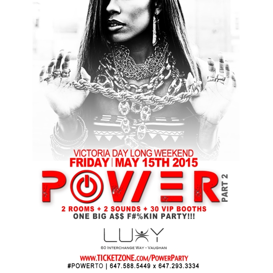 POWER PARTY Pt 2 Long Weekend Friday