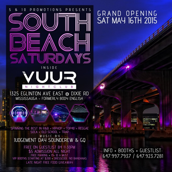 SOUTH BEACH SATURDAYS