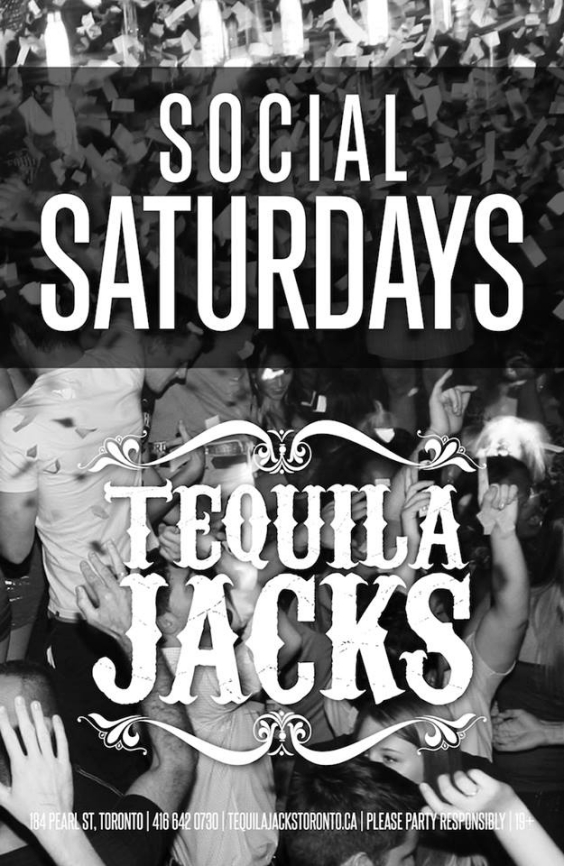 SATURDAY APRIL 18 AT TEQUILA JACKS