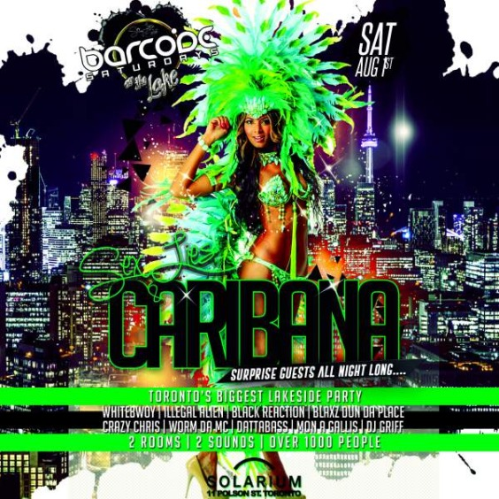 Barcode Caribana Saturdays on the Lake