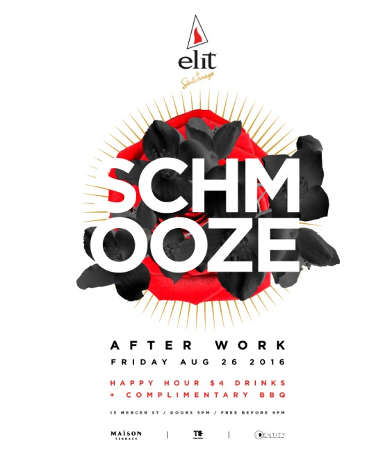 The After Work Schmooze Fridays