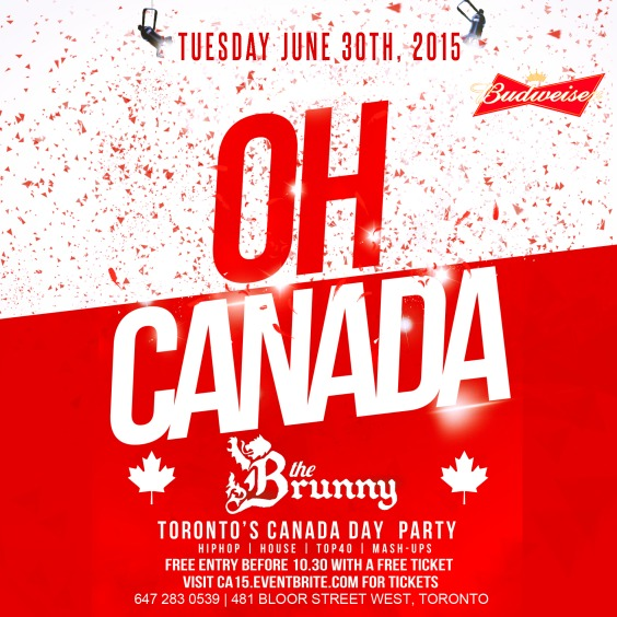Oh Canada: Red and White Affair