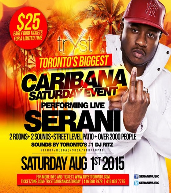 Caribana Saturday at Tryst