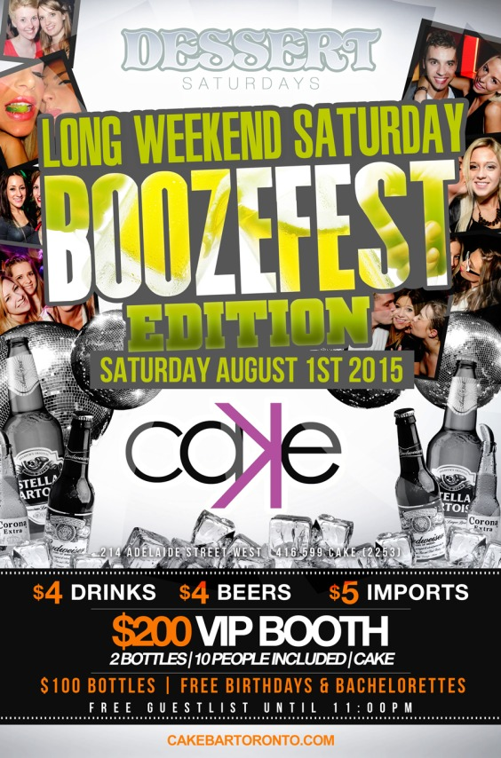 BOOZEFEST Long Weekend Saturday