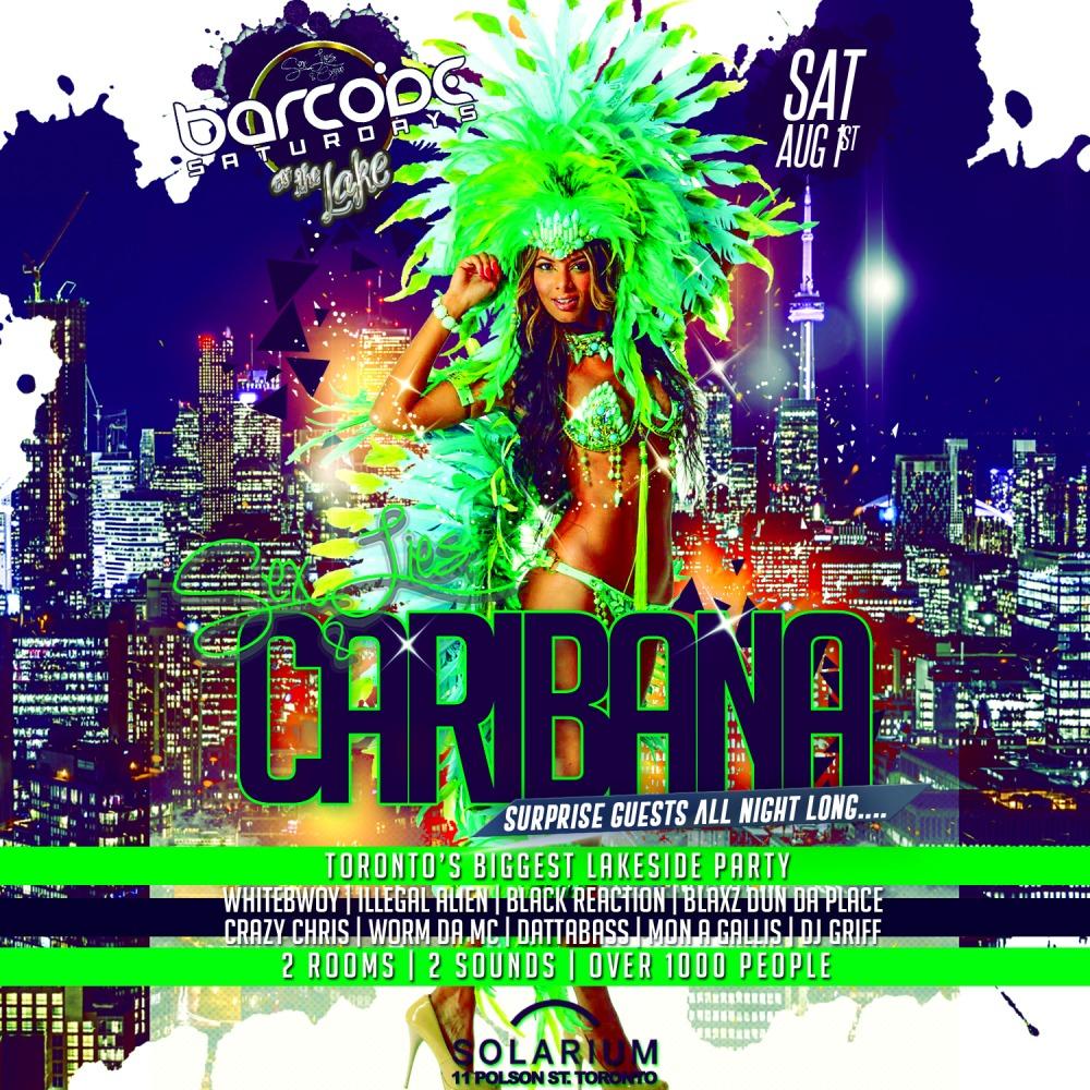 Sex, Lies & Caribana @ Barcode Nightclub (Toronto)
