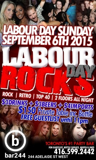 Labour Day Rocks