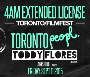 Toronto Peopl. | DJ Toddy Flores