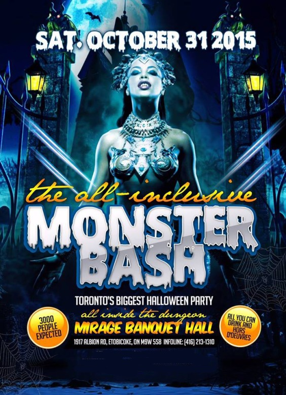 Monster Bash All Inclusive Halloween Party