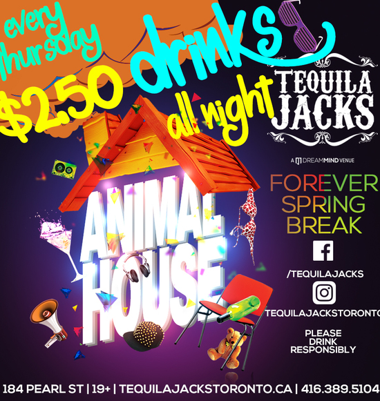 Animal House Thursdays