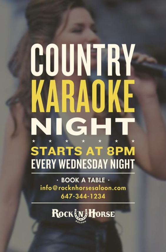 Country Karaoke Night