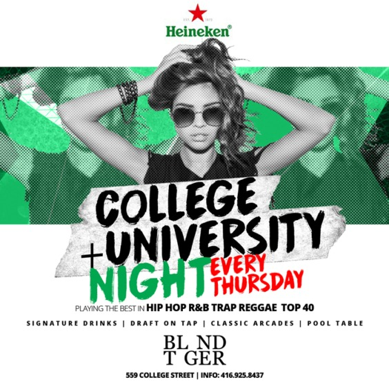 College + University Night