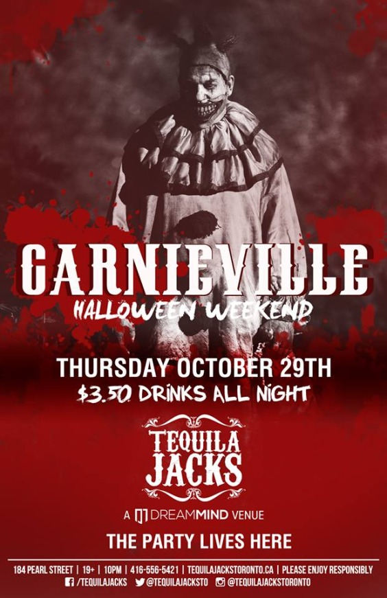 Carnieville Halloween Weekend