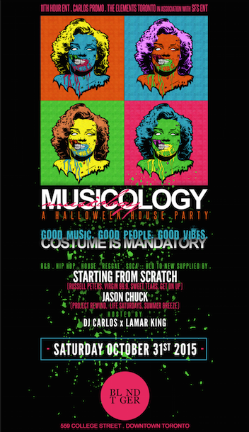 Musicology | A Halloween House Party