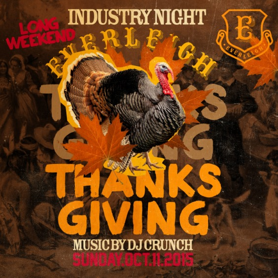 Thanksgiving Sunday at the Everleigh