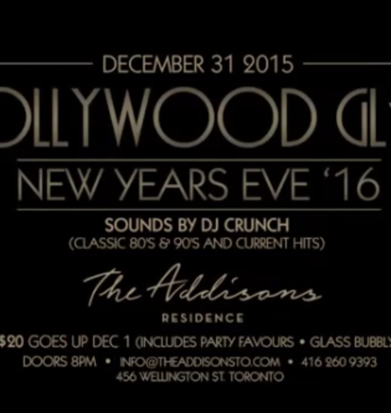 Hollywood Glam NYE 2016