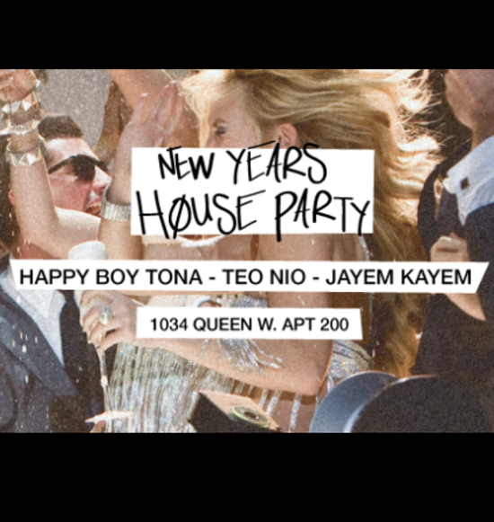 New Year's Eve House Party