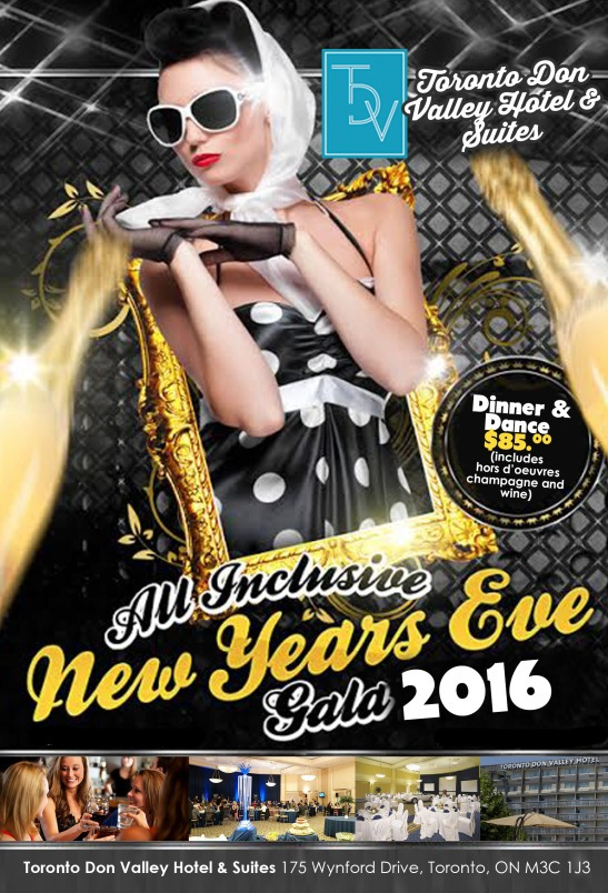 All Inclusive New Years Eve Gala 2016