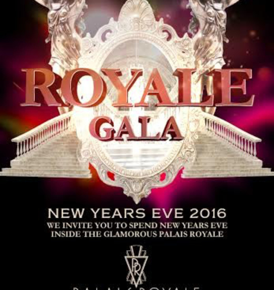 Royale Gala New Years Eve 2016