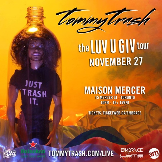 Tommy Trash The Luv U Giv Tour