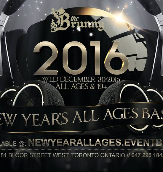 All Ages New Years Bash