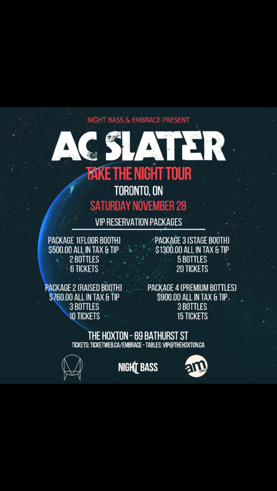 AC SLATER | NOV 28 @ THE HOXTON