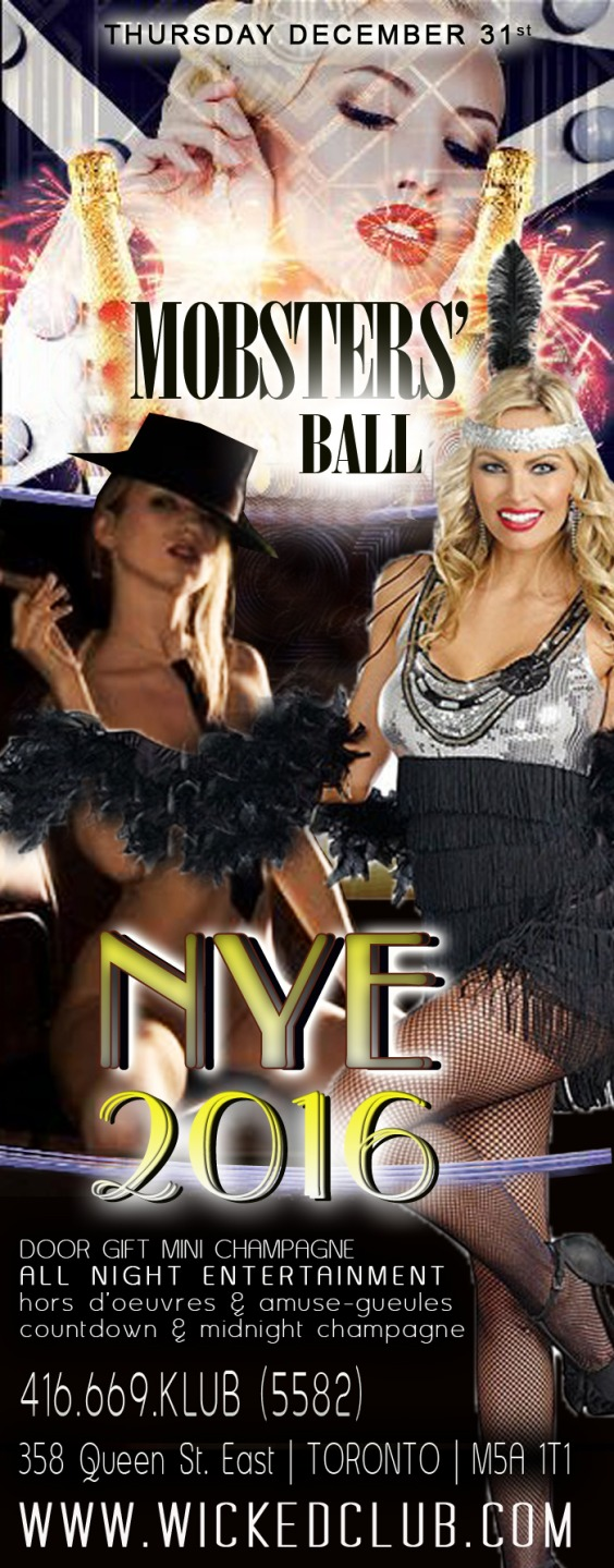 NYE 2016 Mobsters Ball