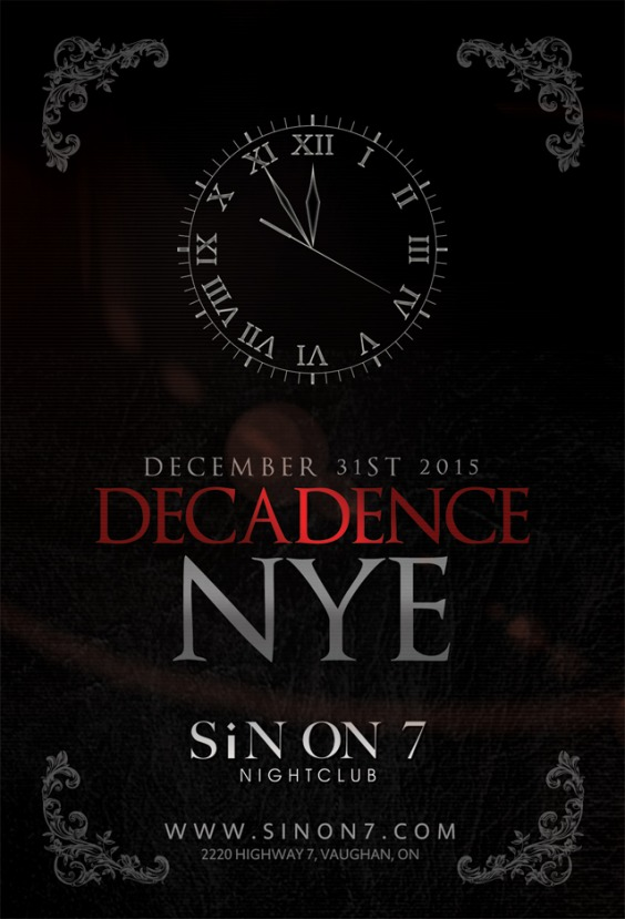 DECADENCE – NEW YEAR'S EVE