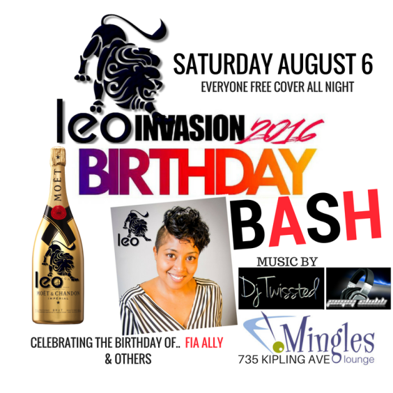 LEO INVASION 2016 BIRTHDAY BASH