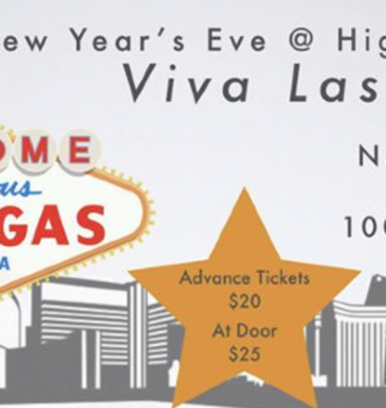 New Year's Eve Party Viva Las Vegas