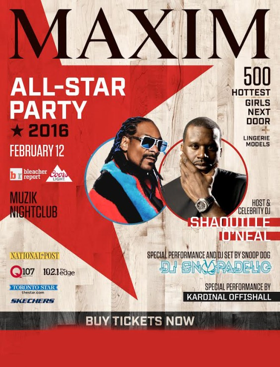 Maxim All Star Party