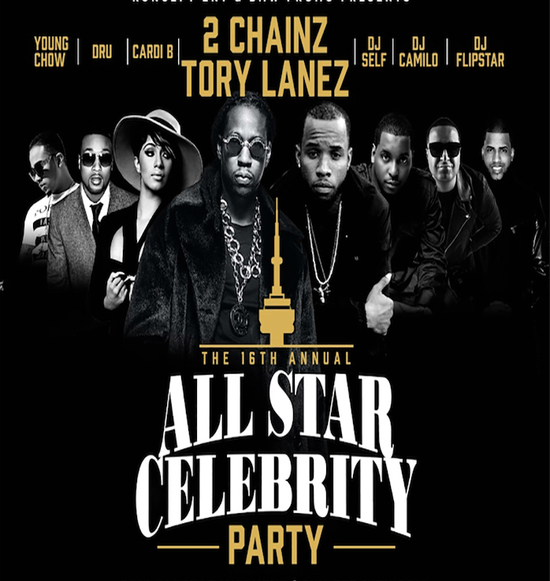 All Star Celebrity Party
