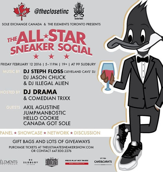 All Star Sneaker Social