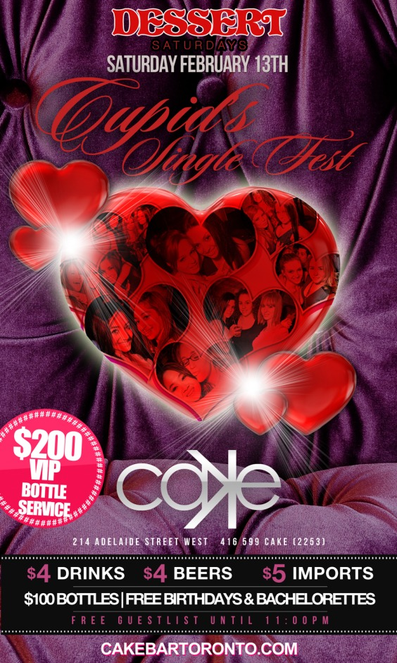 Dessert Saturdays Presents CUPID`S SINGLE FEST