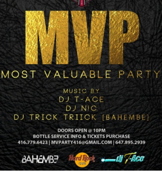 All Star Weekend Most Valuable Party
