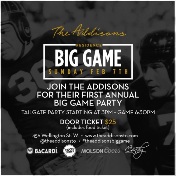 The Addisons First Annual Football Party