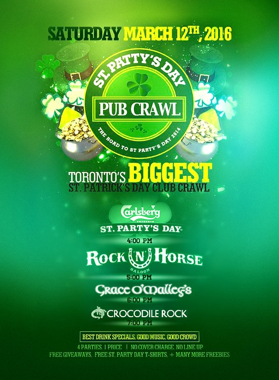 St Patty's Day Pub Crawl