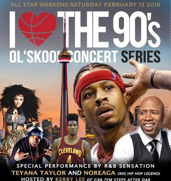 Allen Iverson Hosts I Love The 90's Concert Series