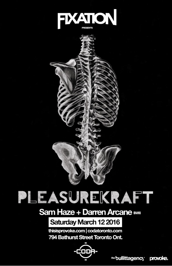 Fixation presents Pleasurekraft