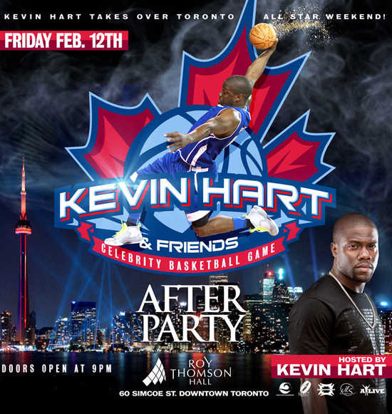 Kevin Hart All Star Celebrity Game After Party