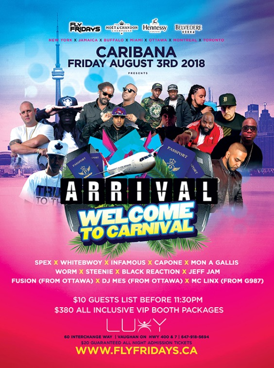 Arrival | Welcome To Carnival